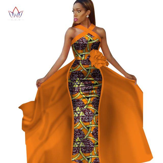 Африканские платья для женщин плюс размер Dashiki Африканские рукава платья для женщин в африканской одежде вечернее платье 4xl другой WY2340