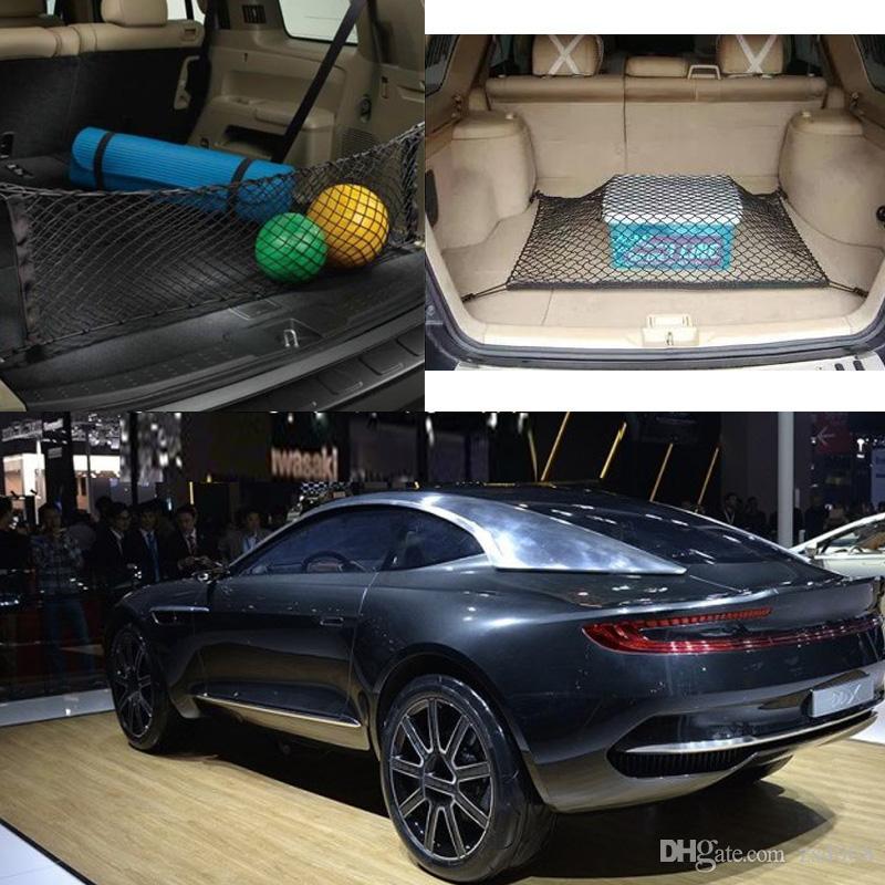 للسيارة أستون مارتن DBX سيغنيت DB11 السيارات السيارات الأسود الخلفية جذع شحن الأمتعة منظم التخزين نايلون عادي عمودي شبكة مقعد