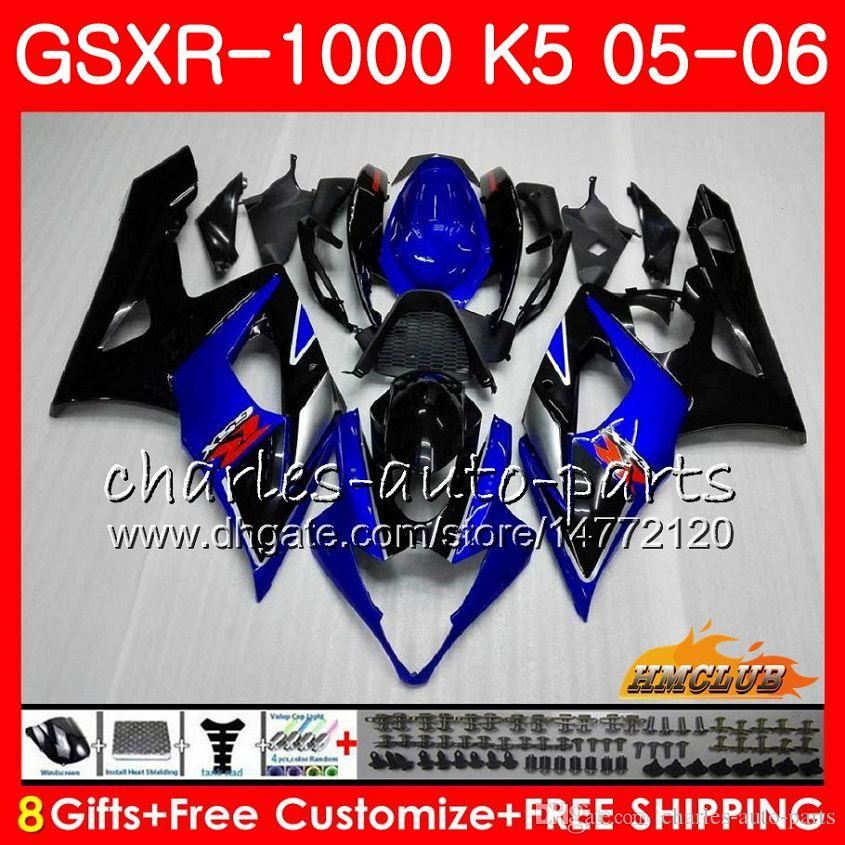 Body + Cowl لسوزوكي GSXR-1000 GSXR 1000 05 06 هيكل السيارة 11HC.0 GSX-R1000 GSXR1000 05 06 K5 GSX R1000 2005 2006