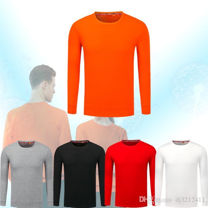 El otoño y el invierno al por mayor Boutique exterior de la tela 100% algodón interior tela 100% de terciopelo zorro de plata larga manga de la camisa de polo de manga larga pr libre