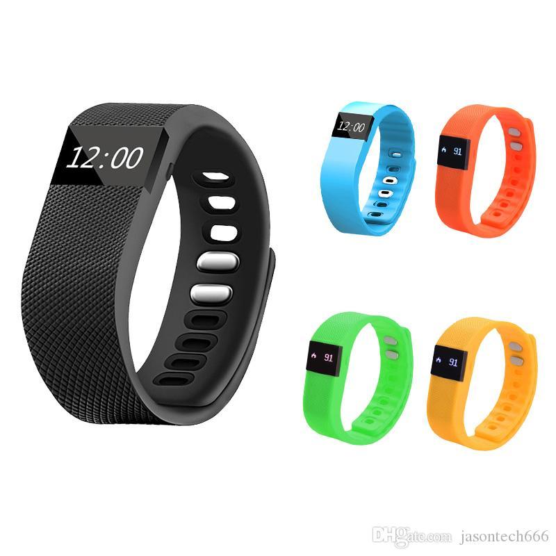 Sport Bluetooth Wireless Smart Wristbands Activity Fibit tw64 Smart Bracelet FitnessTracker 4.0 Fitbit Flex Watch for iOS Android