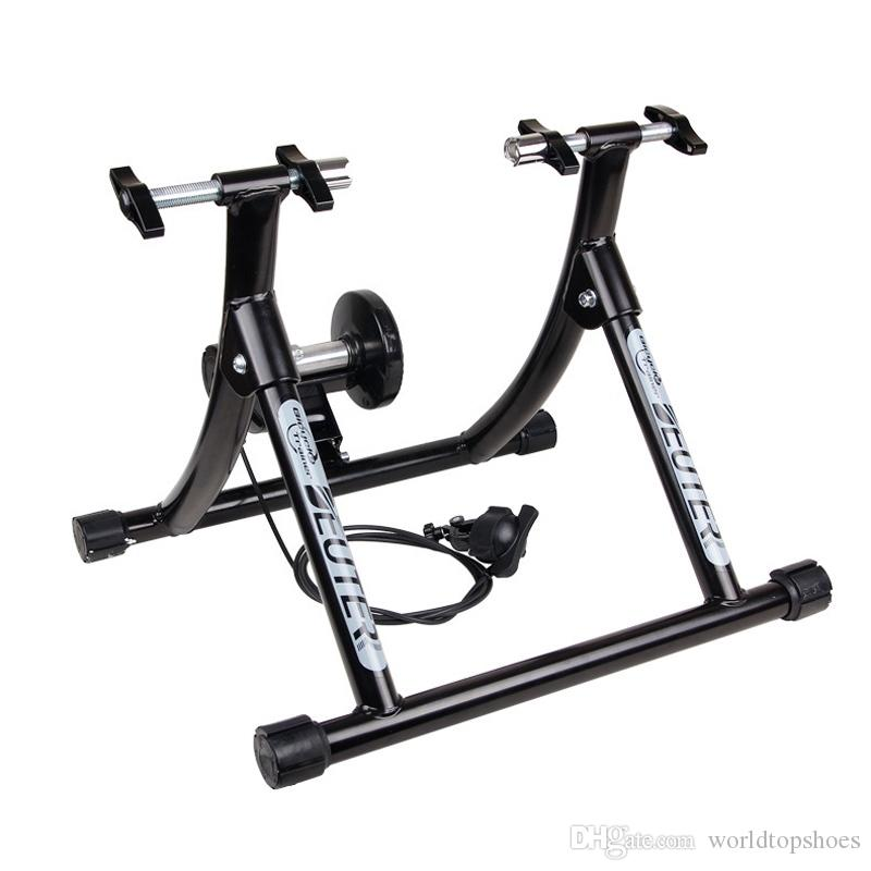 Road Bicycle Exercise Fitness Station MTB Road Bike Roller Trainer Tool Cycling Solid Frame Indoor Bicycle Training Station #107069