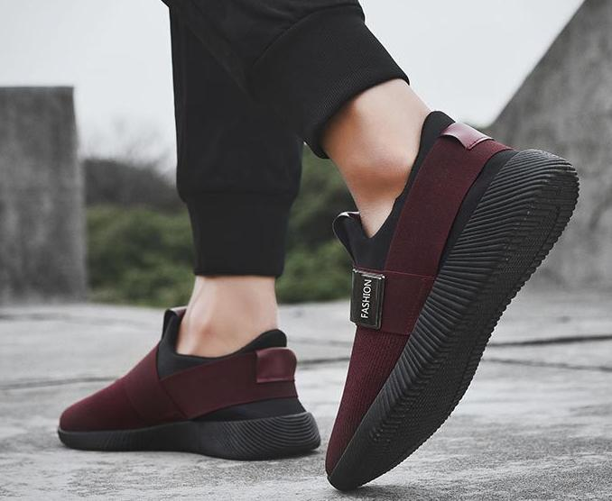 2020 primavera e outono inverno novos sapatos leves de sola grossa antiderrapante calçado desportivo tênis de corrida dos homens MKNN
