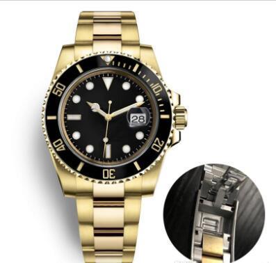 lüks seramik çerçeve erkek orijinal Planör BİLEZİK otomatik mekanik saat safir paslanmaz çelik Swim Aydınlık saatı saatler