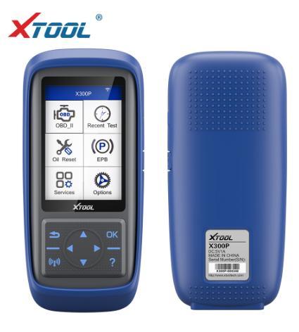 조정 온라인 업데이트 주행 XTOOL 새로운 X300P 진단 도구 자동차 스캐너 OBD 오일 리셋 ABS 출혈 유지 보수 빛 리셋
