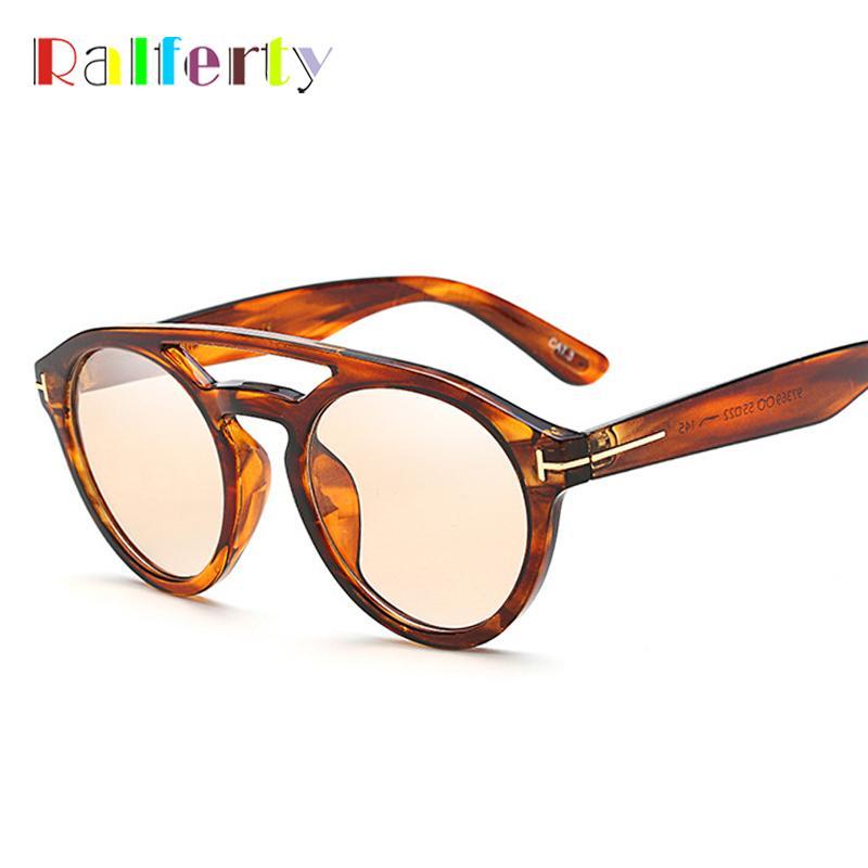 도매 유행 투명 선글라스 여성 남성 디자이너 레오파드 일 안경 빈티지 레트로 그늘 태양 안경 F97369