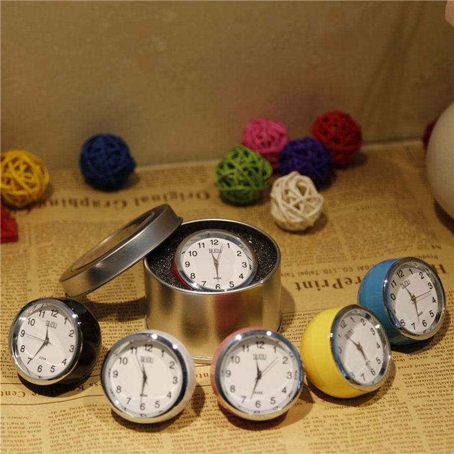 Relógios de mesa Vintage Clocks pequeno Digital Relógio de mesa eletrônico Relógio de Secretária Tabela Assista Escritório Decoração moderna WZH014