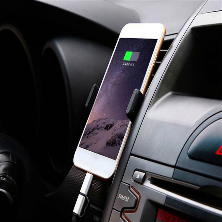 Promotion 360 Degrees Rotation Car Cell Phone Holder Car Air Vent Holder Universal car holder different Colors option For Smart Phone