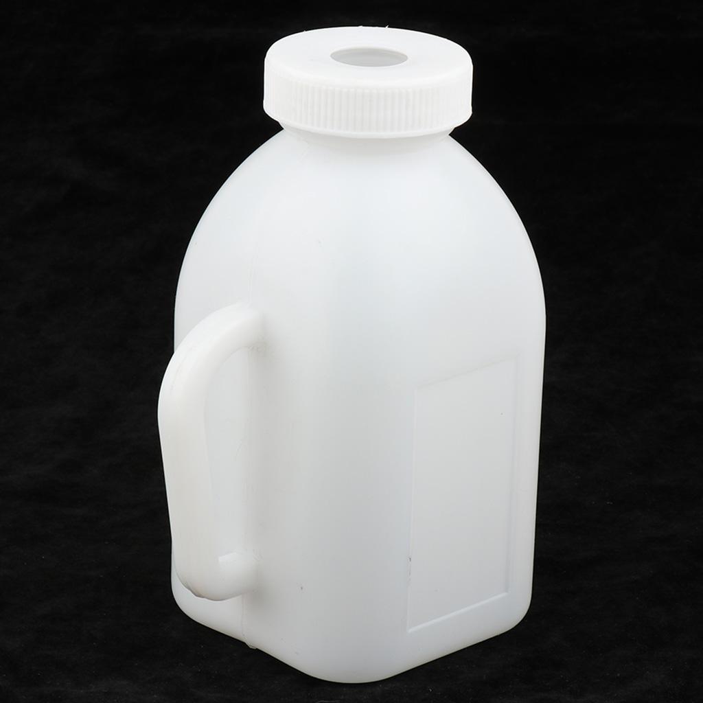 YARNOW Botella de Lactancia para Terneros con Pezones Cordero Oveja Vaca Silicona Botella de Alimentaci/ón Orde/ño Suministros de Alimentaci/ón 850 Ml