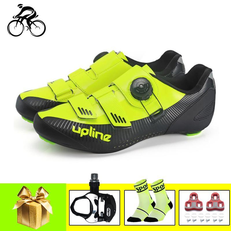 الطريق الدراجة أحذية الرجال sapatilha ciclismo تنفس الدراجات أحذية رياضية الدراجة الدواسات في الهواء الطلق سباق الأحذية دراجة الذاتي قفل
