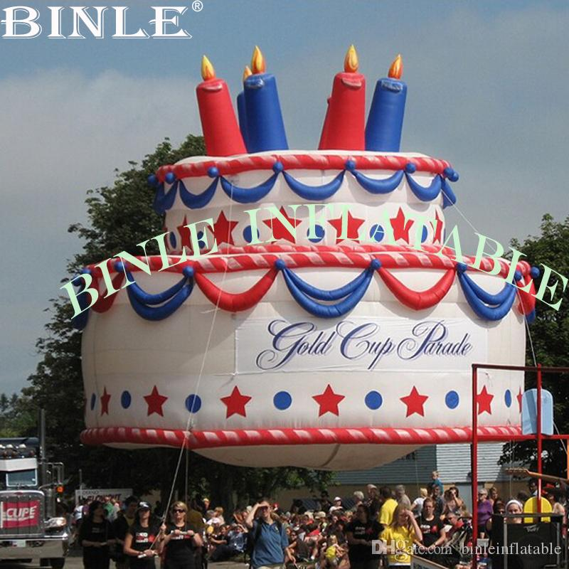 Phenomenal 2020 Custom Made Oxford Giant Inflatable Birthday Cake With Birthday Cards Printable Benkemecafe Filternl