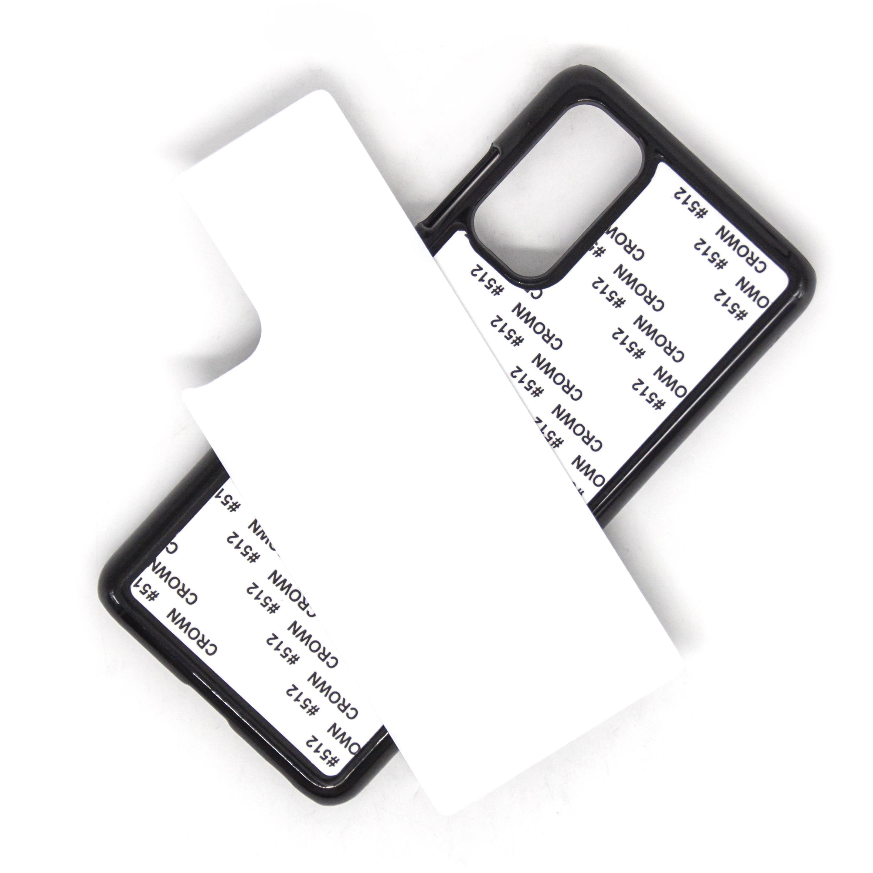 DIY Sublimation Heat Press Cover PC Case para Samsung Galaxy S20 Plus S20 Ultra A01 A21 A51 A71 A81 A10 A30 A50 A50 A80 100 pcs / lote