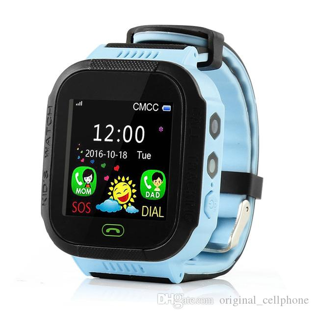 Y21S GPS Crianças Relógio Inteligente Anti-Perdido Lanterna Bebê Relógio De Pulso Inteligente SOS Chamada Dispositivo de Localização Rastreador Kid Seguro vs Q528 DZ09 U8 Relógio Inteligente