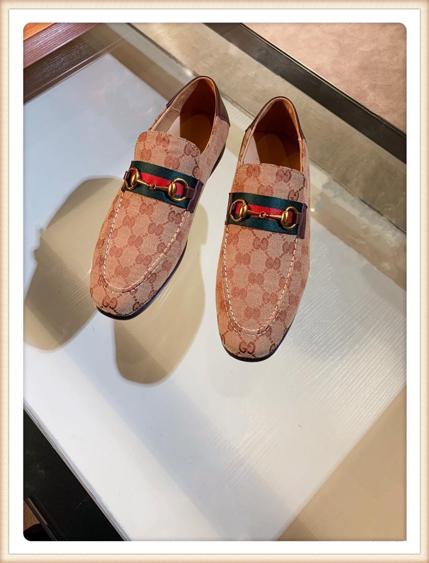 핫! 2019 패션 파리 럭셔리 남성 베이지 싼 사무실 웨딩 드레스 디자이너의 신발 사이즈 38 ~ 45 신발을 디자이너