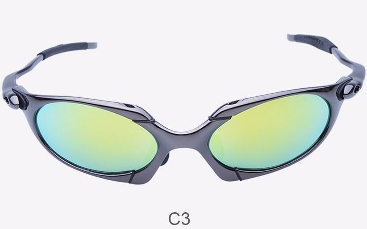 الجملة الأصل روميو الرجال الاستقطاب النظارات الشمسية ركوب الدراجات Aolly جولييت X المعادن الرياضة ركوب نظارات Oculos ciclismo gafas في الهواء الطلق النظارات