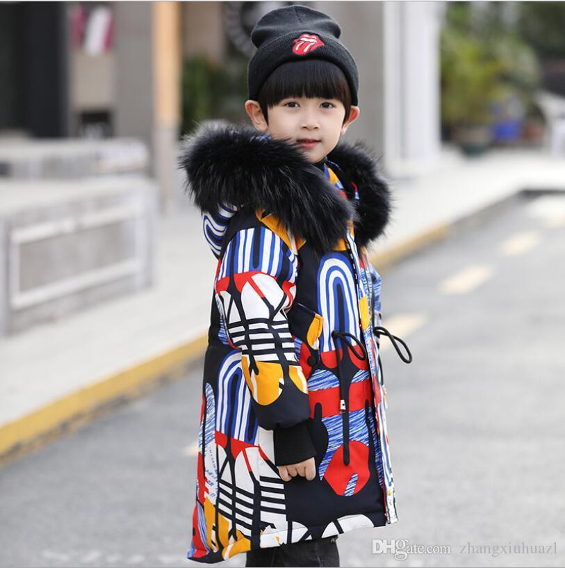 Boys Clothes Warm Winter Children down Jackets boy's duck Down Children Outerwear Coats Down Parkas Kids jacket Children Outerwears winter