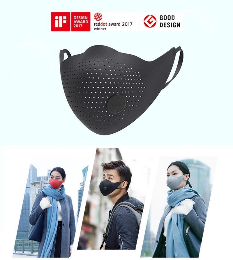 Xiaomiyoupin AirPOP 에어 착용 PM2.5 안티 - 안개 마스크 공기 청정기가 활성 공기 공급 전기 얼굴 입 호흡 마스크 제공 마스크