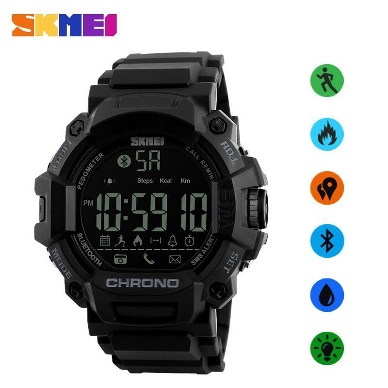 vendita all'ingrosso Smart Couple Watch Call Promemoria SMS Smartwatch per IOS Android Bluetooth Collegare calorie impermeabili Orologi da donna