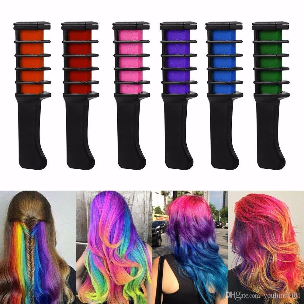 Wholesale Professional Mini Disposable Personal Salon Use Temporary Hair  Dye Comb Crayons Hair Dyeing Tool TSLM2 Hair Dyes Colours Charts Colour Dye  ...