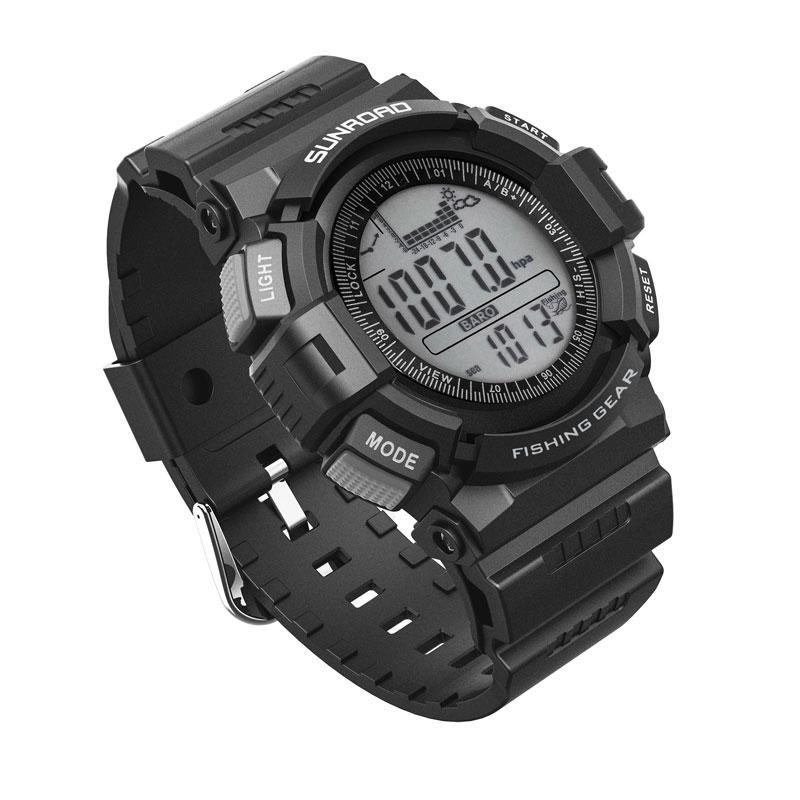 Reloj digital resistente al agua SUNROAD de los hombres con Termómetro Altímetro Senderismo Reloj Reloj Relojes natación que acampaba CJ191213