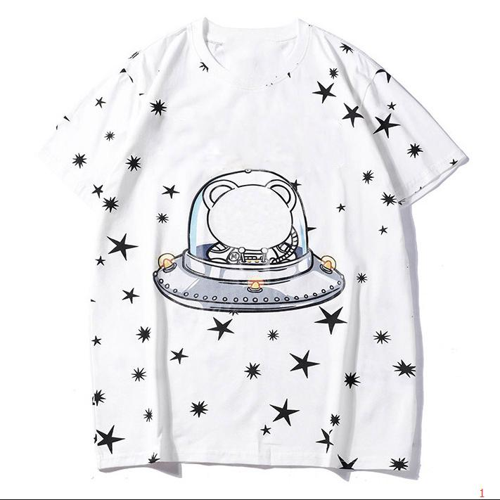 Мода Мужские футболки с фирменными Letters Printed T рубашки мужские с коротким рукавом футболки Женщины Top Оптовые 3 цветов Размер S-2XL XY18122901