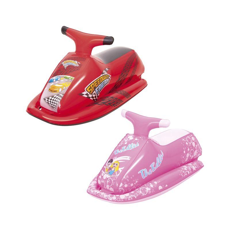 Детский надувной гоночный мотор всадник бассейн поплавок воды плавание игрушки ездить на матрас пляжных девочек игры Буй