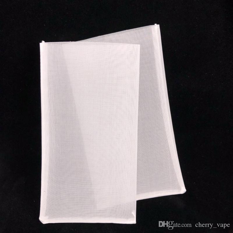 """2 .5x4.5"""" 2x4"""" 90 120 micras de poliéster Resina de nylon de malla Monofila prensa del calor de la máquina limpia de colofonia bolsas filtrantes bolsitas de té"""