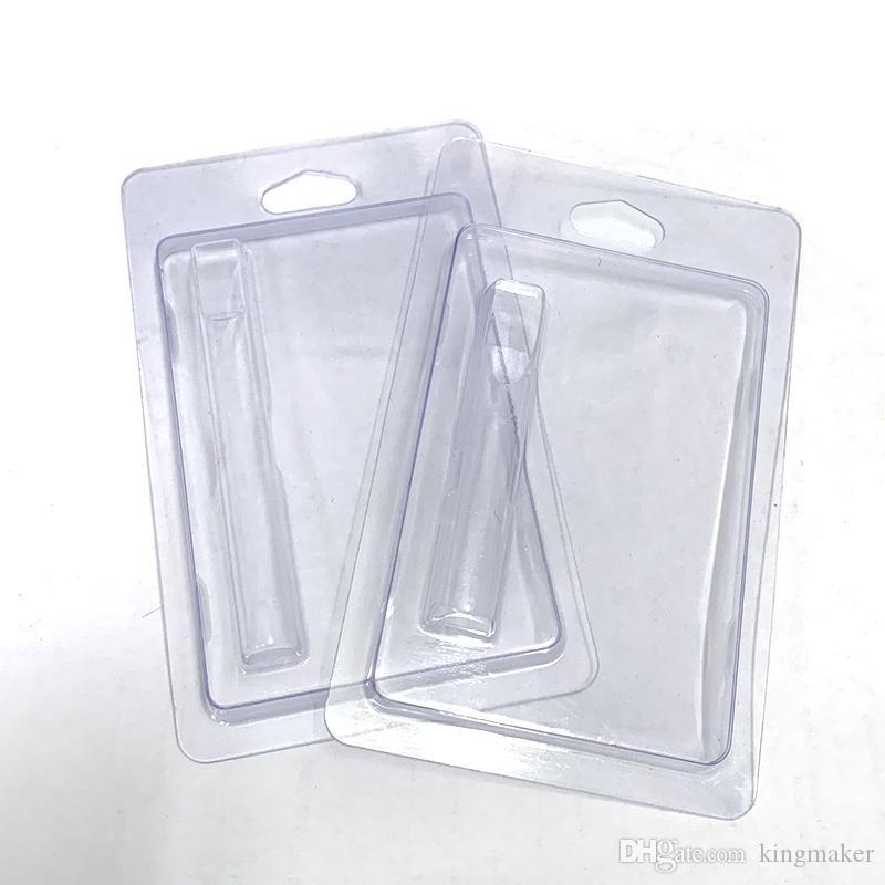 Пластиковая упаковка подходит для 0.5ml 1,0 мл Vape Картриджи th205 M6T G2 510 густое масло Форсунки Retail блистер Пакет Box