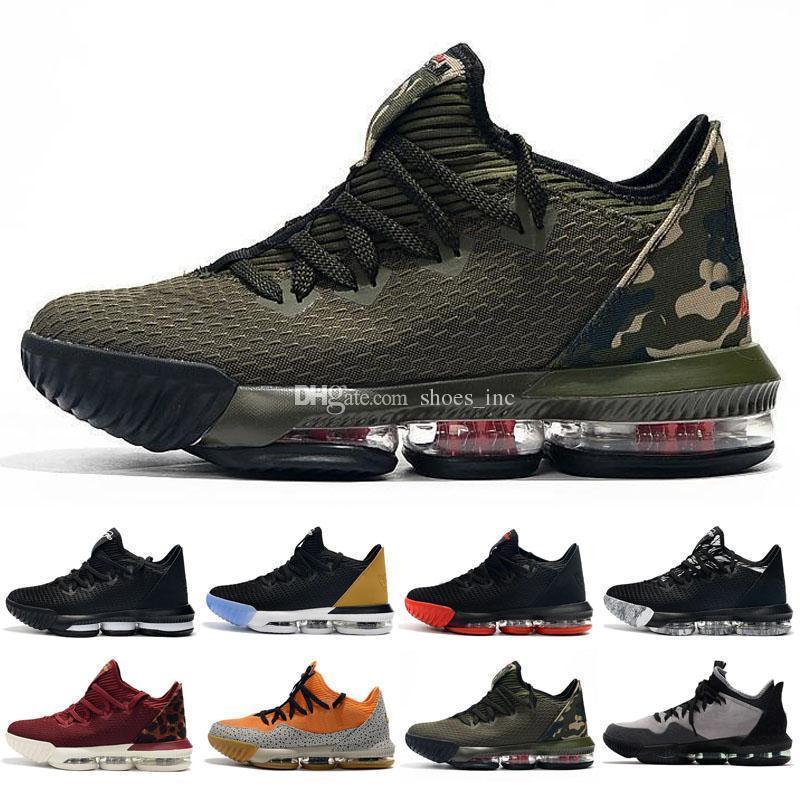 mens New Lebrons 16 XVI zapatos de baloncesto bajos en venta retro BHM Oreo 15 zapatillas tamaño 7-12