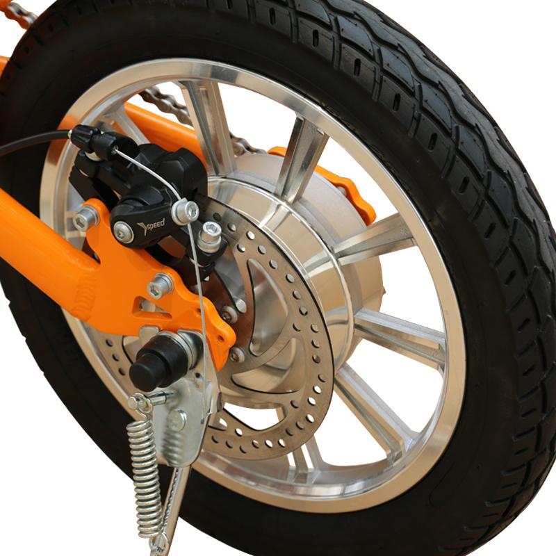 36V250W 14 pollici pieghevole e-bike con brushless batteria al litio e-bike