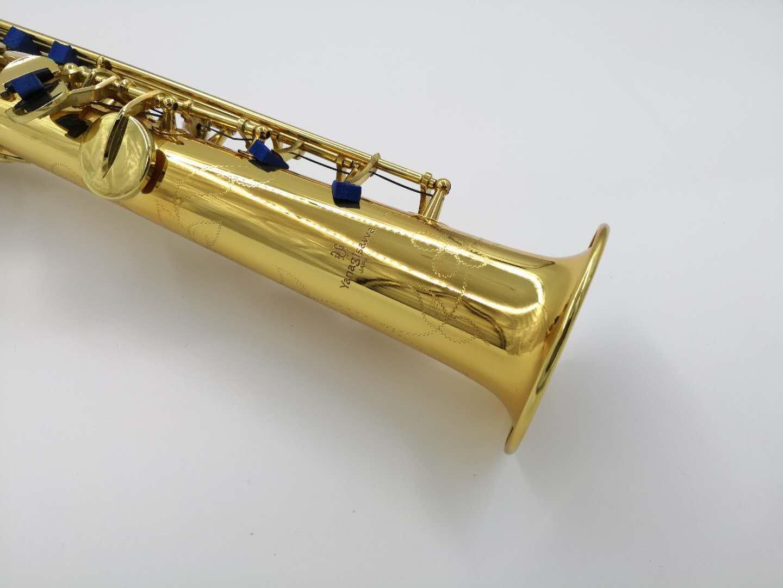 Yanagisawa S-901 Soprano tubo dritto sassofono ottone oro lacca b piatto strumento musicale sassofono con custodia accessori