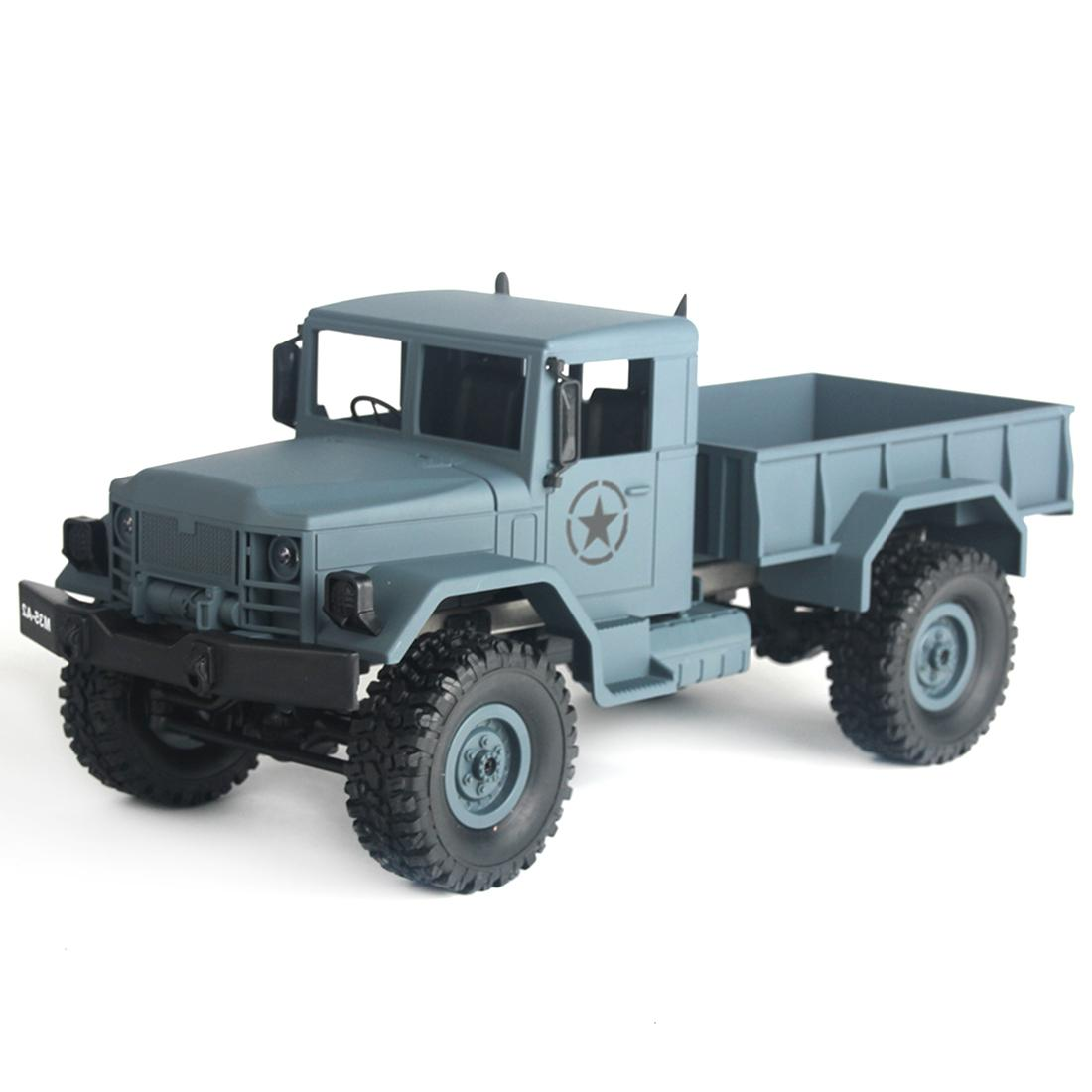 15 Mins Working Time MNMODLl MN-35 2.4G Four-wheel Drive Climbing RC Truck Camion RC Toys for Children