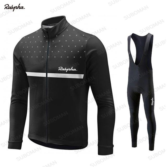 Велоспорт одежда Мужская одежда Cycle Джерси Набор с длинным рукавом весна осень дорожный велосипед Wear езда дышащий Ropa Ciclismo