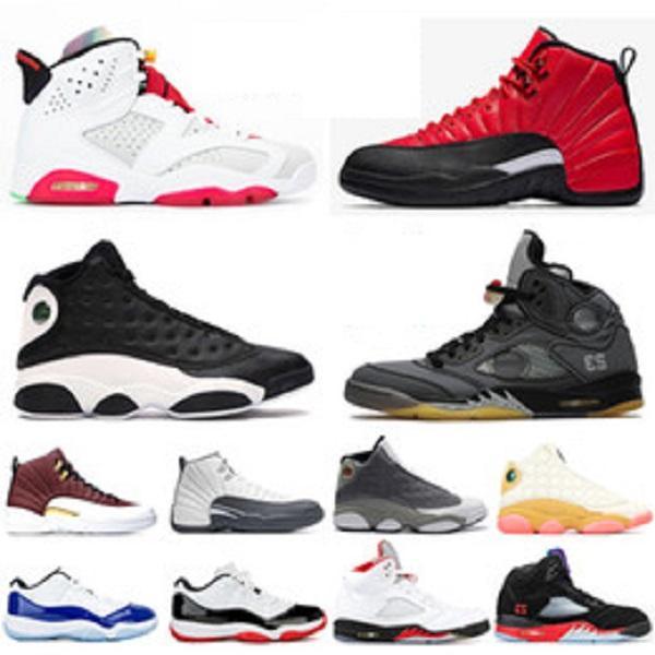 Nike air jordan retro uomo FIBA 12s più recenti 5s Dream It Do It 9s 10s Sneaker Concord 11s Cap and Gown 13s Uomo Scarpe da ginnastica