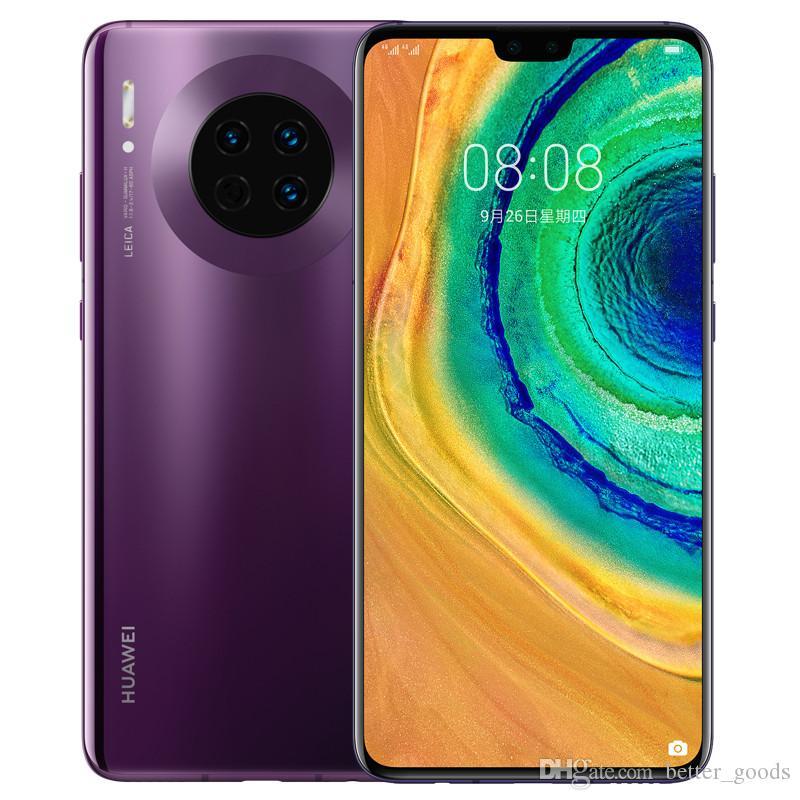 """Huawei original del compañero 30 4G LTE Teléfono Celular 8 GB de RAM 128 GB ROM Kirin 990 Octa Core 6,62"""" OLED de pantalla completa de la huella digital 40MP ID IP53 móvil"""