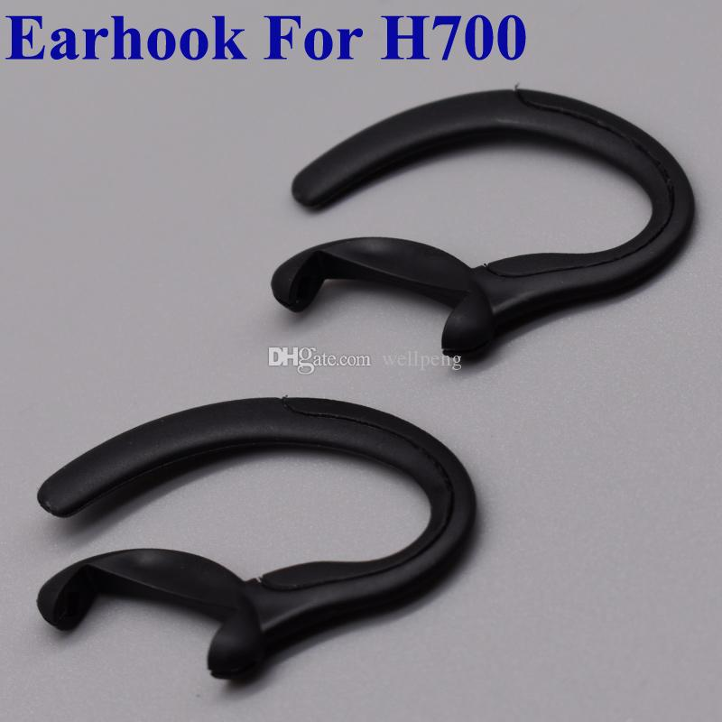 Для Motorola H700 H710 H721 H800 H715 H730 Bluetooth-гарнитура Замена наушников Earloops Мягкий ушной крючок черный цвет петли Бесплатная доставка