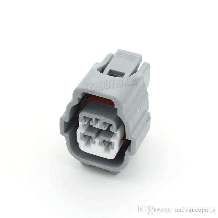 10868 10869 Electrical 4 Pin Ket Female Auto Connector Plug 7283-7040-10