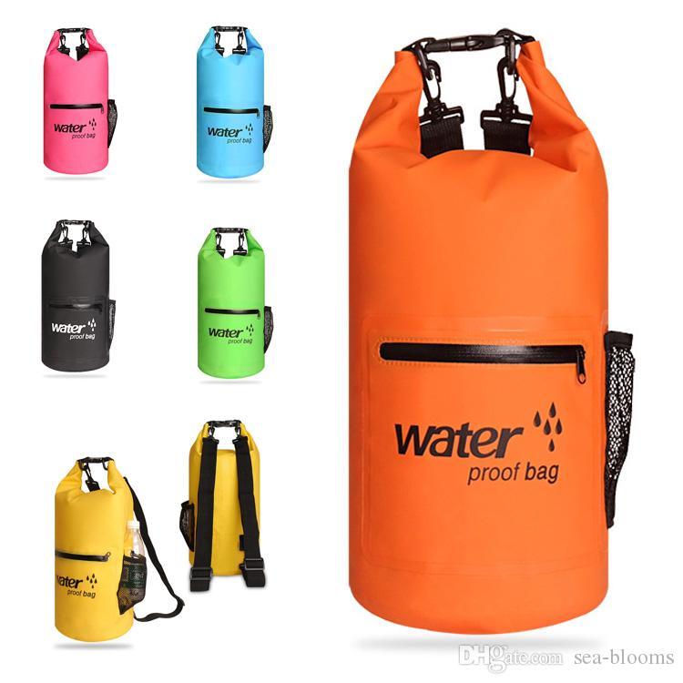 10L Waterproof Bag Dry Bag Storage Backpack For Women Men Sack Waterproof Floating Dry Gear Bags For Boating Rafting Fishing Swimming M234Y