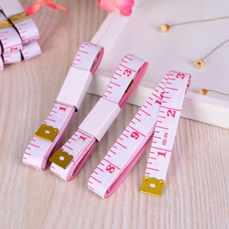 Messkörper Lineal Zoll Sewing Tailor Maßband Soft-Werkzeug 1.5M Nähen Maßband