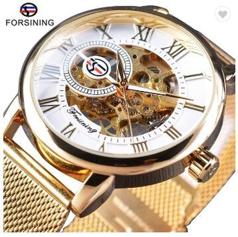 2020Top продажа роскошные мужчины механический скелет наручные часы Часы мужчины Forsining прозрачный чехол мода Menes часы reloj de lujo