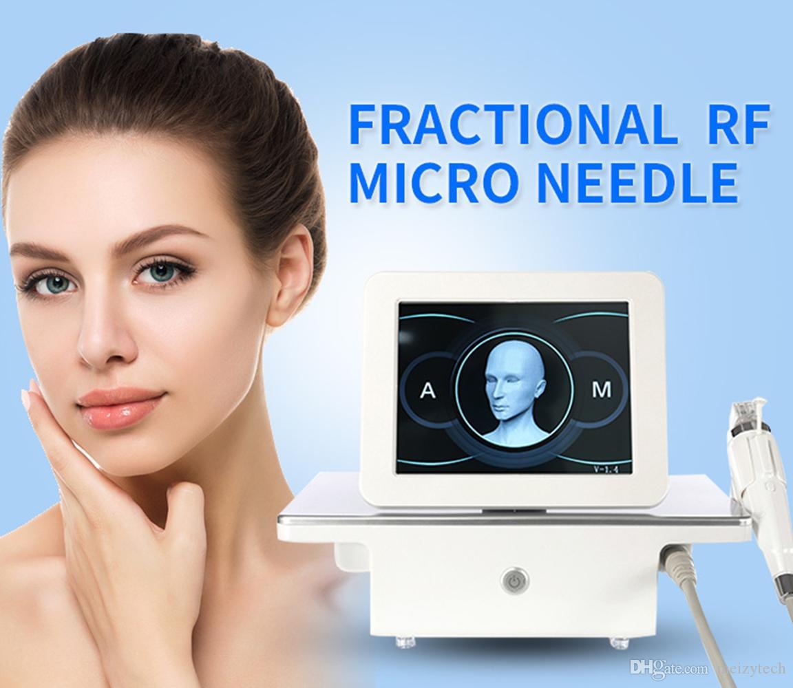 Il nuovo disegno 4 punte frazionale macchina microneedle frazionale RF Micro ago RF frazionale Skin Care Serrare rimozione delle rughe macchina di bellezza
