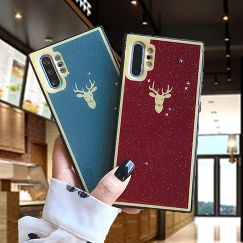2020 Noel yumuşak plastik s10 her şey dahil koruyucu kılıf toptan folyo cep telefonu kabuk altının note10 Samsung için uygun Elk