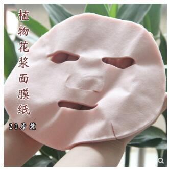 Bitki çiçek görünmez maske kağıt Doğal bitki lifi hafif ve ince giysiler saf çiy ortağı 20 adet Havlu yapıştırın