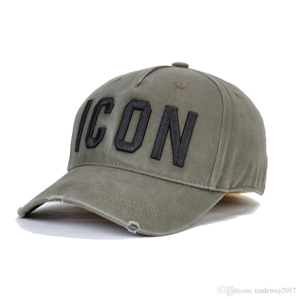 nave de la gota D2 rojo del béisbol 2019 unisex gorra de béisbol gorra de lujo de los hombres de los snapbacks Sombrero del icono de la calle tendencia de la moda unisex Golf d2 de los hombres