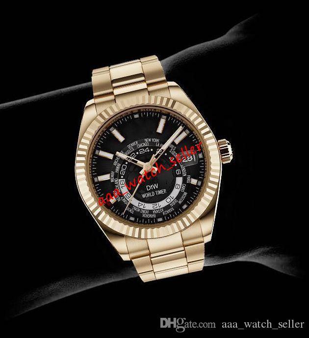 10 стилей мужские модные часы рэпер Джей-Z версия Diw World Timer 41mm Master Sky Dweller 326934 326939 326935 Часы автоматического движения