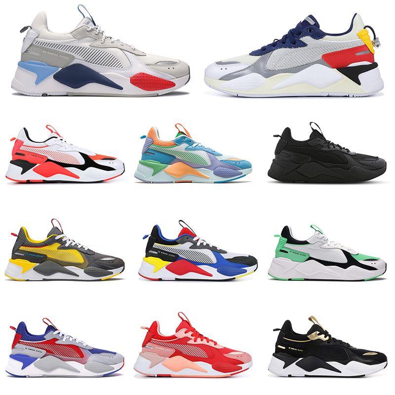 erkekler kadınlar rs-x ayakkabı ader hatası beyaz motorsporları beyaz gri oyuncaklar çalışan parlak şeftali kupa altın üçlü siyah erkekler tasarımcı spor ayakkabıları 36-45
