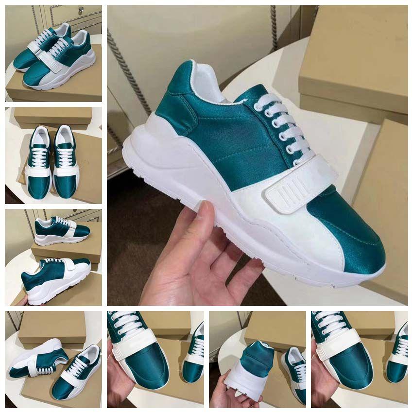 Kutu ile Sneaker Rahat ayakkabılar Eğitmenler Tasarımcı ayakkabı spor ayakkabı Eğitmenler Tarafından En Kaliteli Kadın Ücretsiz Nakliye toy99 BL1901 10-18