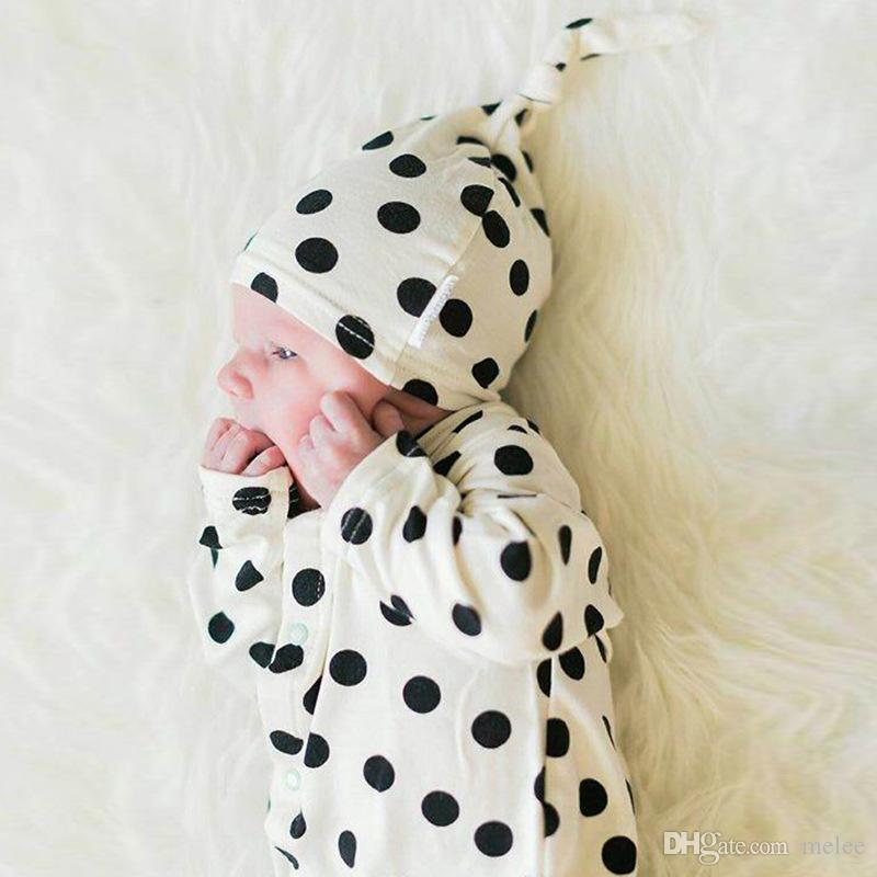 0a2c84ea9708 ... baby designer newborn baby boy clothes girl bodysuit infant bodysuit  baby dot full print rompers with ...
