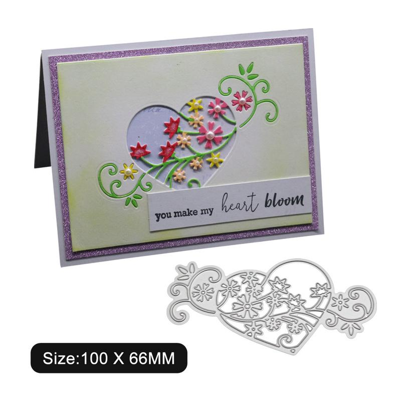 Flowers Vine Cutting Dies Stencil DIY Scrapbooking Paper Card Embossing Crafts