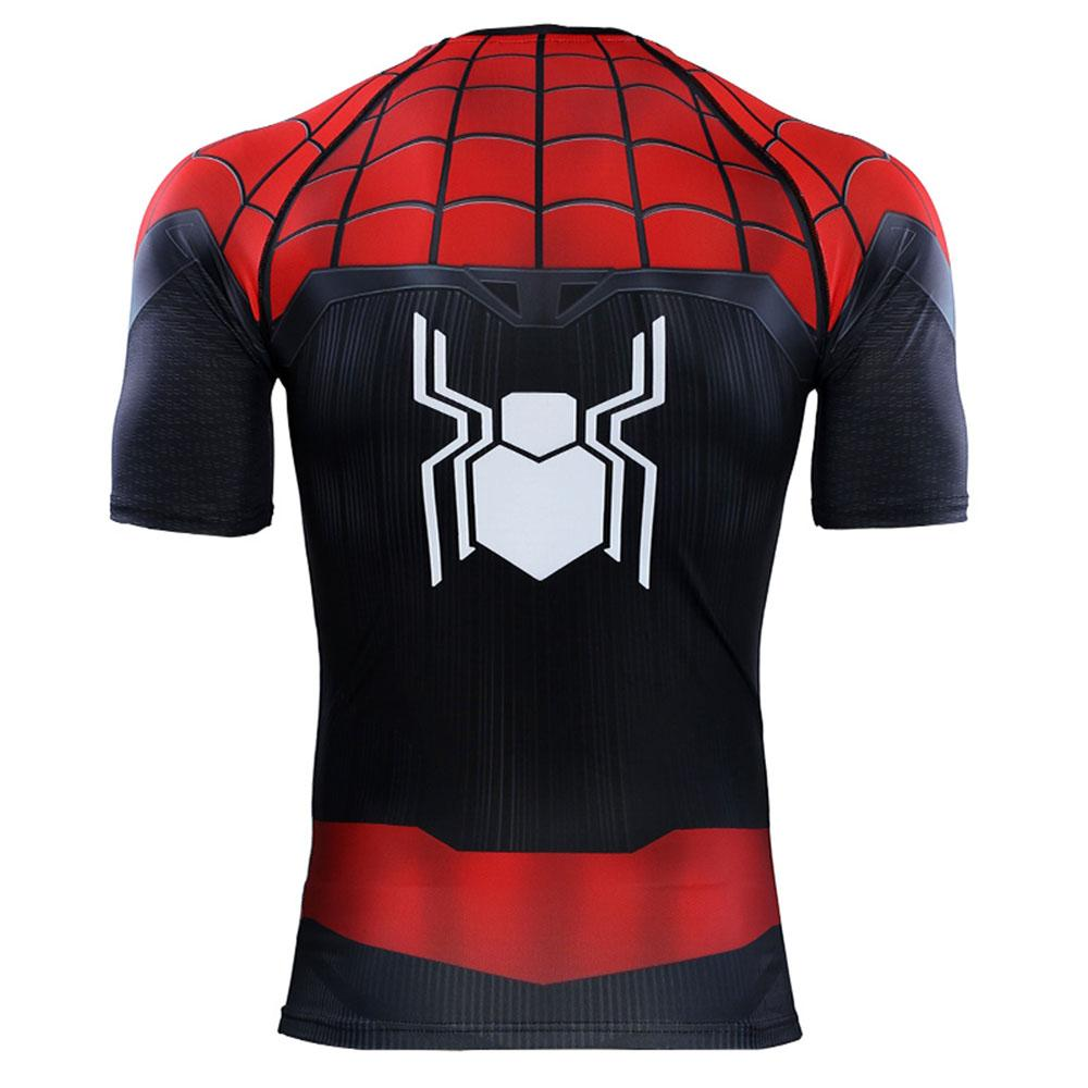 Spider Man Far From Home 3d Printed T Shirts Cosplay Peter Parker Marvel T Shirt Tops Short Sleeve Costume T Shirt T Shirts From Numero 2274
